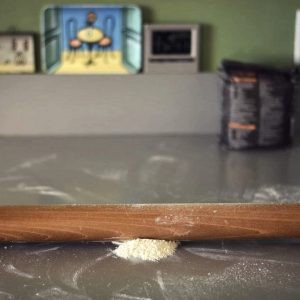Cherry wood rolling pin